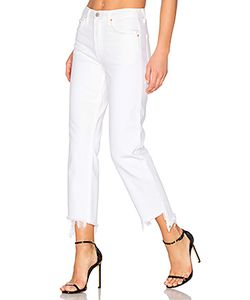 GRLFRND   Helena High-Rise Straight Crop Jean