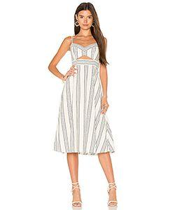 BCBGMAXAZRIA | Миди-Платье С Вырезами