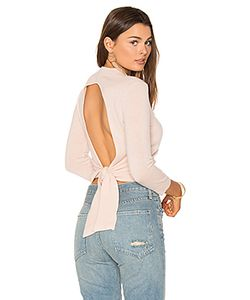 Autumn Cashmere | Tie Back Crop Sweater