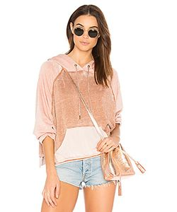 Free People | Tri Color Hoodie