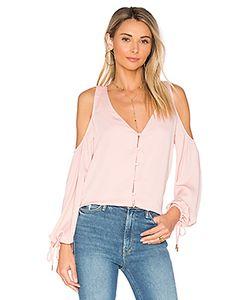 L'Academie | Блуза С V-Вырезом И Открытыми Плечами