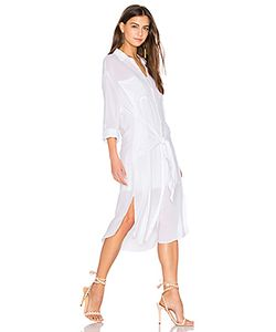 Line & Dot   Платье-Рубашка С Завязкой Andria