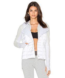 BLANC NOIR | Компактная Атласная Куртка 3 В 1