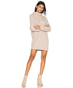 Michael Lauren | Vargus Draped Turtleneck Dress