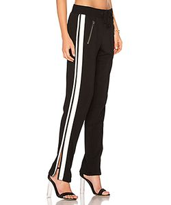 PAM & GELA | Zippered Pant With Side Stripes