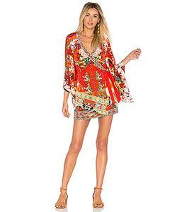 Camilla | Платье С Перекрестными Шлейками Kimono