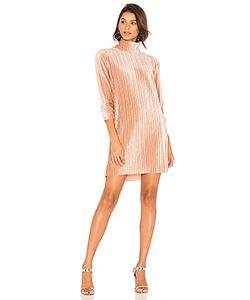 Minkpink | Pleated Velvet Dress