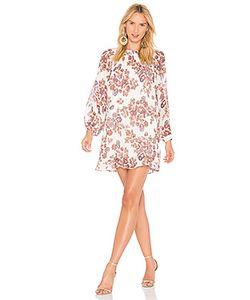 Line & Dot | Обегающее Сверху И Плиссированное От Пояса Платье Adelene Line