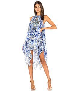 Camilla | Платье В Восточном Стиле С Вырезом-Капля