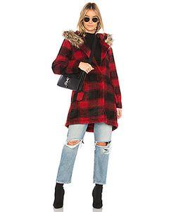 Bb Dakota | Пальто С Меховой Отделкой На Капюшоне Lia