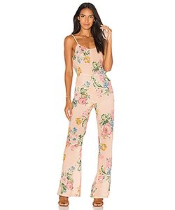 AUGUSTE | X Revolve Havana Nights Backless Splash Flared Jumpsuit