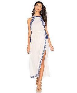 boemo | Ancon High Neck Slit Maxi Dress