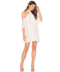 krisa | Off Shoulder Halter Dress