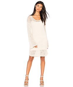 Callaghan | Open Weave Bell Sleeve Dress