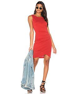 Bobi | Облегающее Платье Из Мягкой Джерси С Рюшами