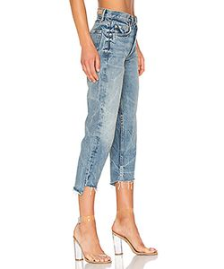 GRLFRND   Petite Helena High-Rise Straight Jean