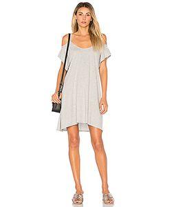Bobi   Легковесное Платье Из Джерси С Открытыми Плечами