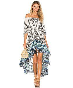 ROCOCO SAND | Платье С Открытыми Плечами