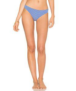 Shoshanna | Marine Eyelet Stripe Bikini Bottom