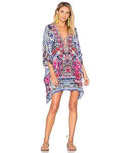 Camilla | Короткое Платье В Восточном Стиле На Шнуровке