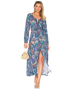 Aila Blue   Макси Платье Odyssey