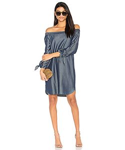 Charli | Платье Со Спущенными Плечами Sable