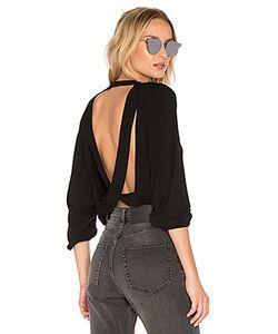 Riller & Fount   Chet Open Back Crop Sweatshirt