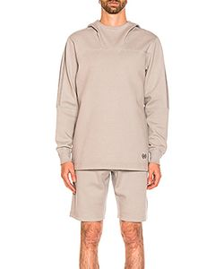 ADIDAS BY WINGS & HORNS | Bonded Linen Hoodie