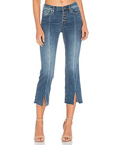 Free People | Cropped Button Front Jean