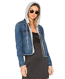 Central Park West | Beacon Hooded Jean Jacket