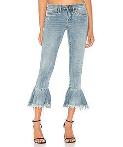 BLANKNYC   Ruffle Crop Jean