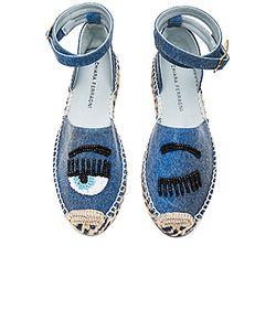 Chiara Ferragni | Ankle Tie Espadrille