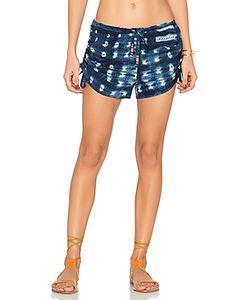 Chaser | Drawstring Gathered Shorts