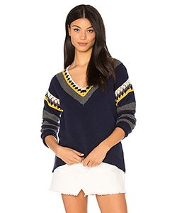 SHAE | Crochet V Neck Sweater