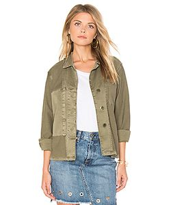 Current/Elliott | The Reversed Military Shirt Jacket