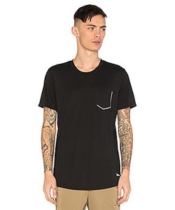 BRANDBLACK | Tech Reflective Chest Pocket Tee