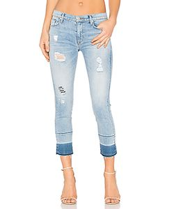 Hudson Jeans | Укороченные Джинсы Средней Посадки Zoeey