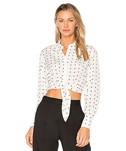 Diane Von Furstenberg | Front Tie Button Up