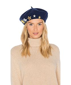 Hat Attack | Wool Beret With Star Patches
