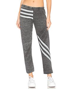 Wildfox Couture | Burnout Fleece Tri Stripe Bottoms