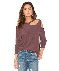 Lna | Double Slash Sweater