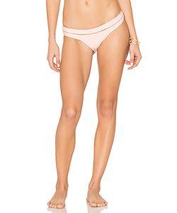 Pilyq | Banded Mesh Teeny Bikini Bottom