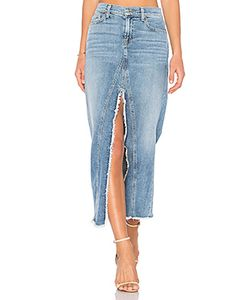 7 for all mankind | Long Skirt With Slit