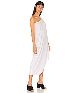 Bobi | Modal Jersey One Shoulder Maxi Dress