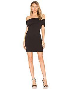 Bobi | Boucle Off Shoulder Mini Dress