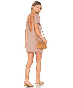 Bobi | Supreme Jersey Scoop Back Shirt Dress