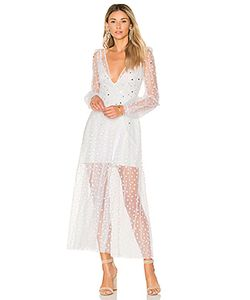 For Love & Lemons | Макси Платье All That Glitters