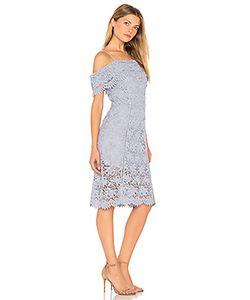 J.O.A. | Кружевное Платье С Открытыми Плечами J.O.A.