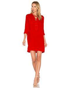 1. STATE | Lace Up Pocket Dress