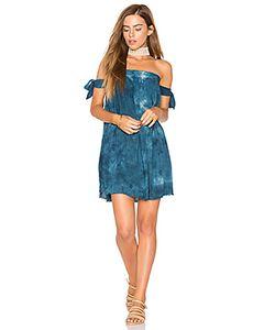 Blue Life | Платье Со Спущенными Плечами